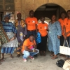 WOCON Staff and Partners pose with Market Executives of Agbalata Market, Badagry, to the left is Mrs. Rukayat Rabiu, Market Secretary